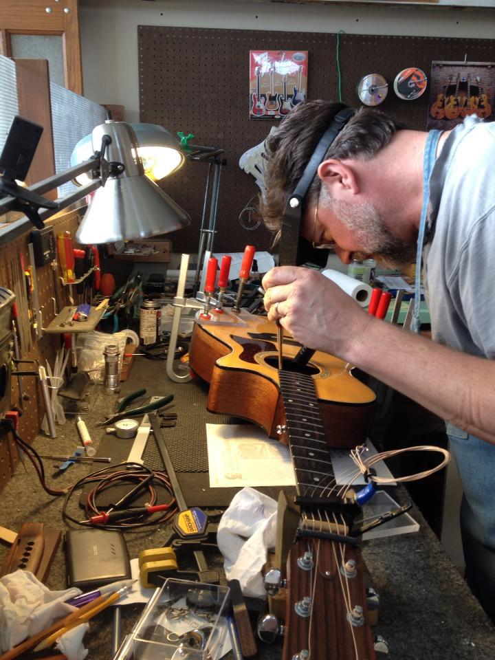 GTS Acoustic Guitar Repair Tulsa