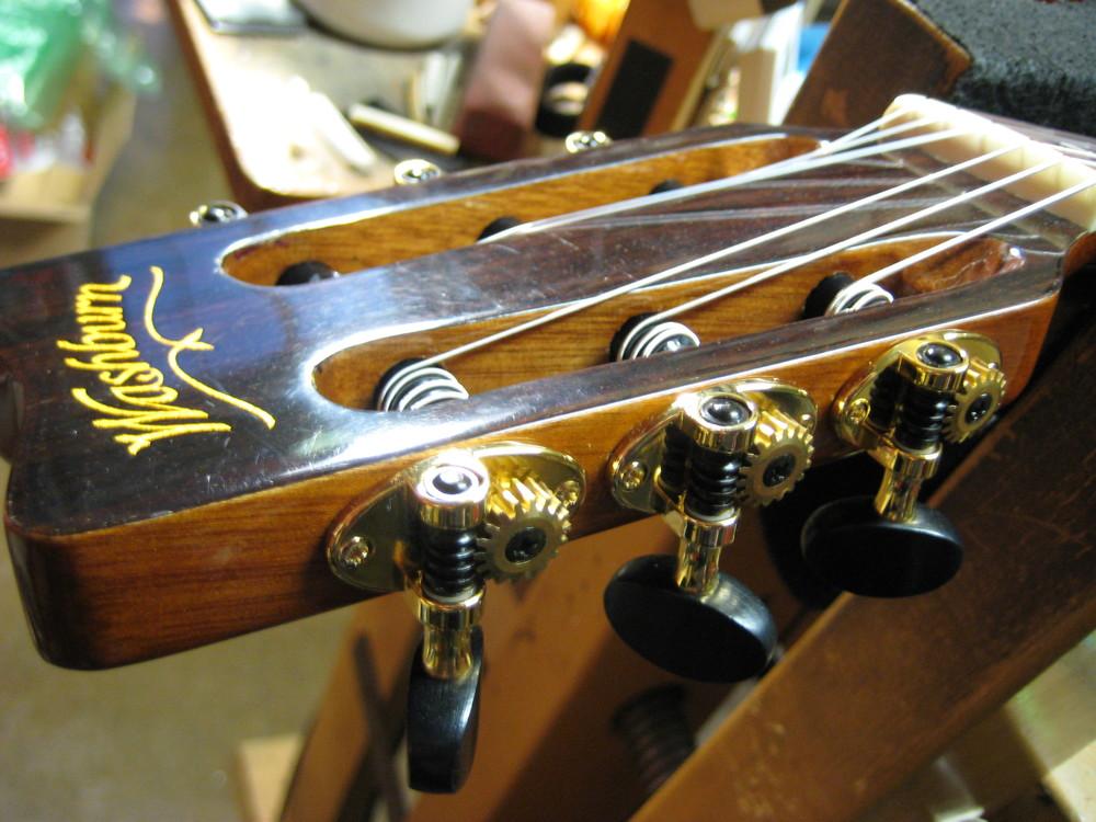 Schertler guitar tuners, Tulsa guitar tuner repair GTS Guitar Technical Services