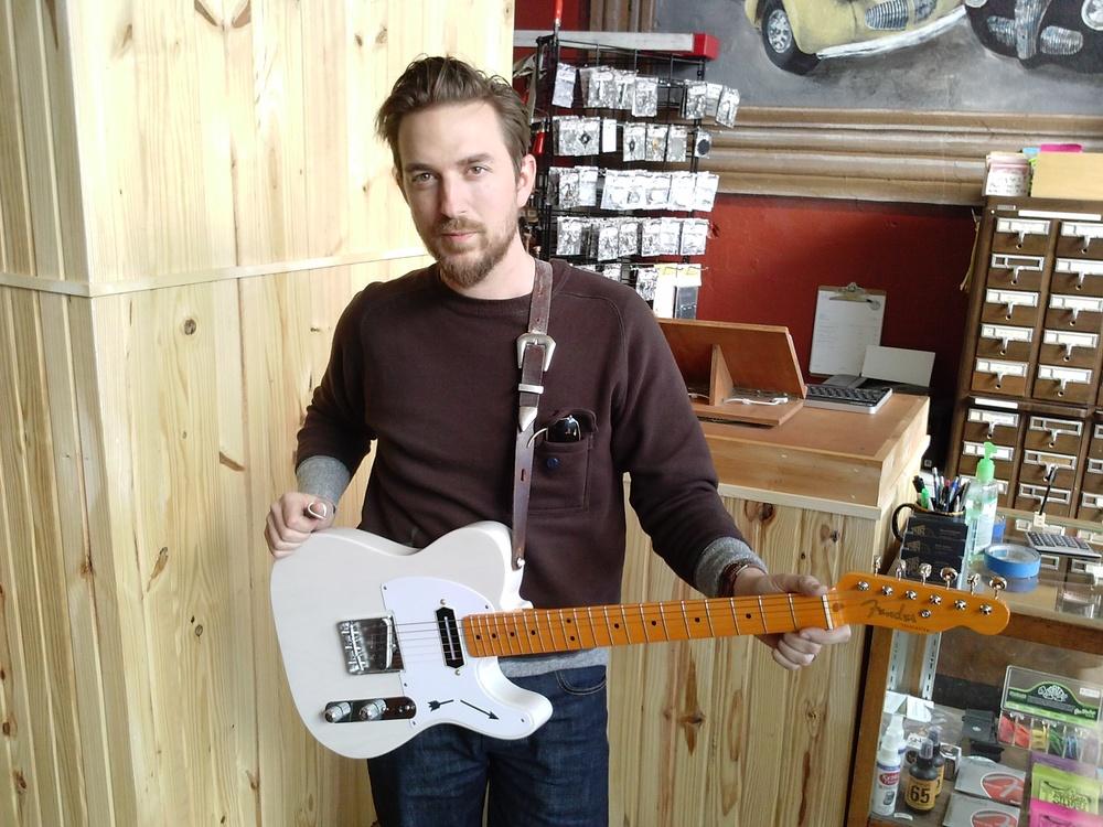 JD MCPherson Tele Guitar Charlie Chistian PIckup