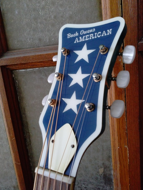 Togetheragain Justin And His Buck Owens Harmony Guitar