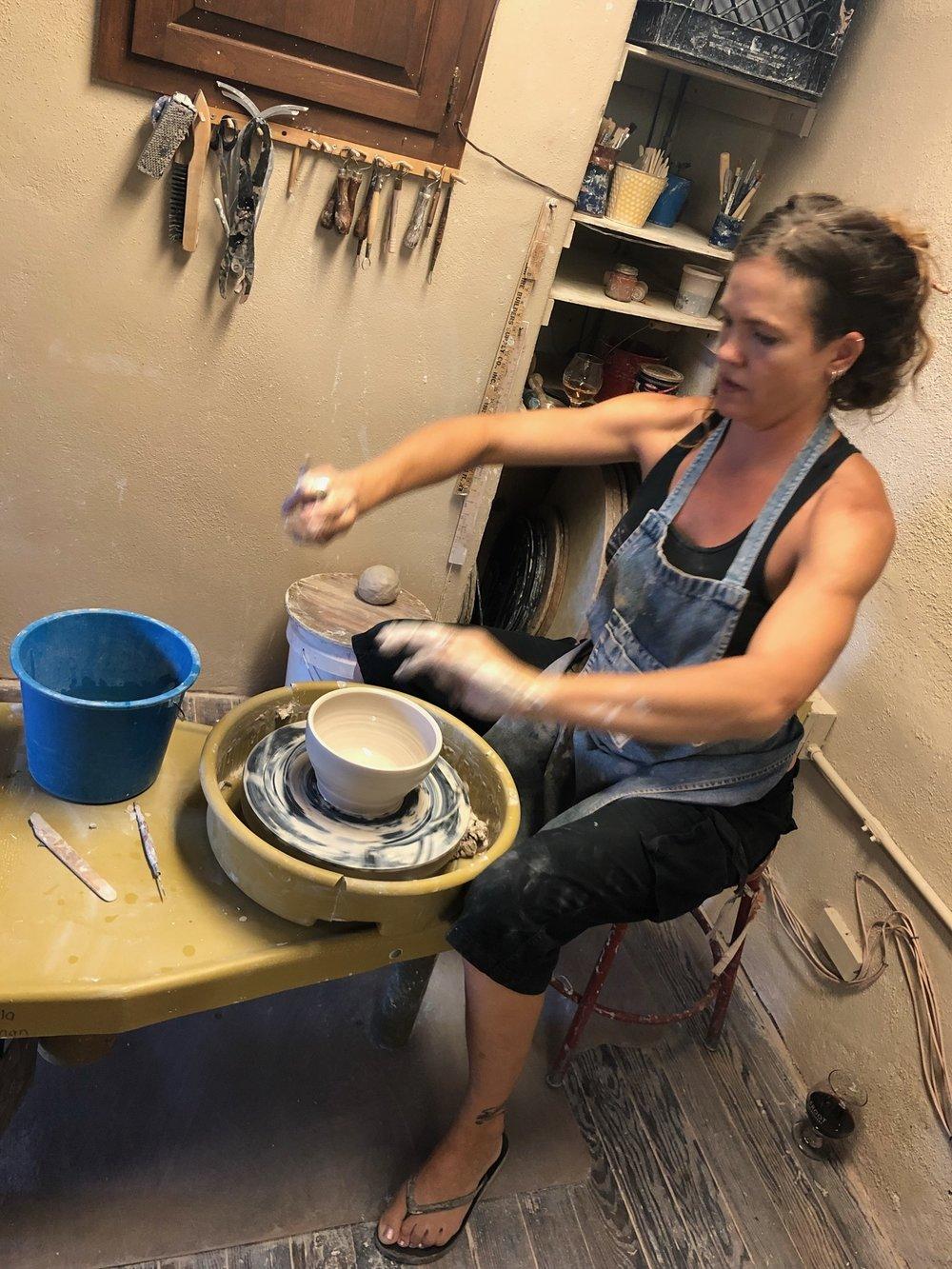 Angela Smith Kirkman, ceramic artist