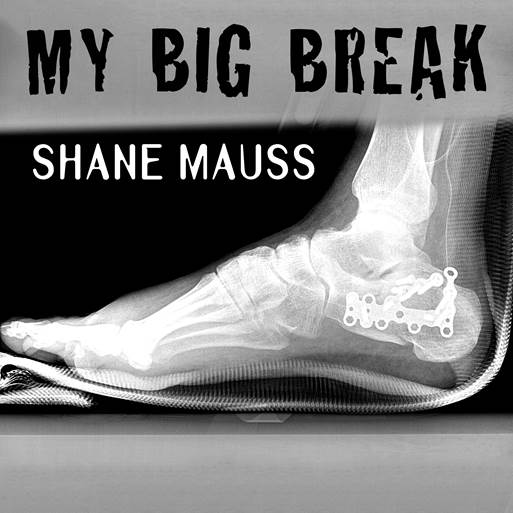 My new album album about breaking both my feet can be found on iTunes, Amazon, and Spotify