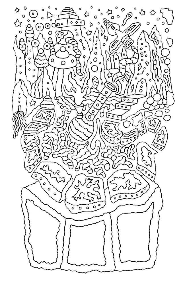 A Good Trip Journal Coloring Book