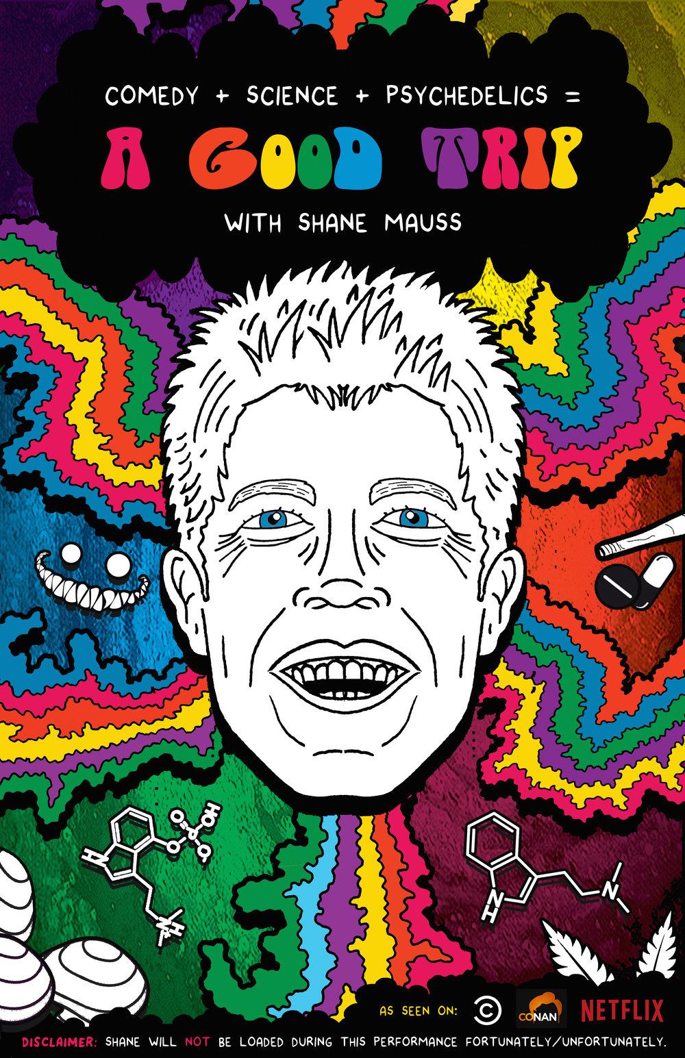 a good trip tour comedian shane mauss