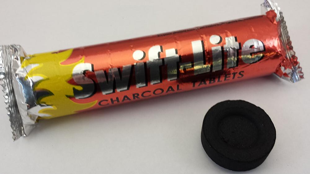 Charcoal & Tongs