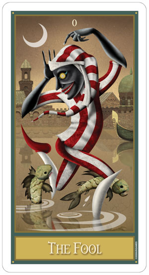 The Deviant Moon Tarot Deck