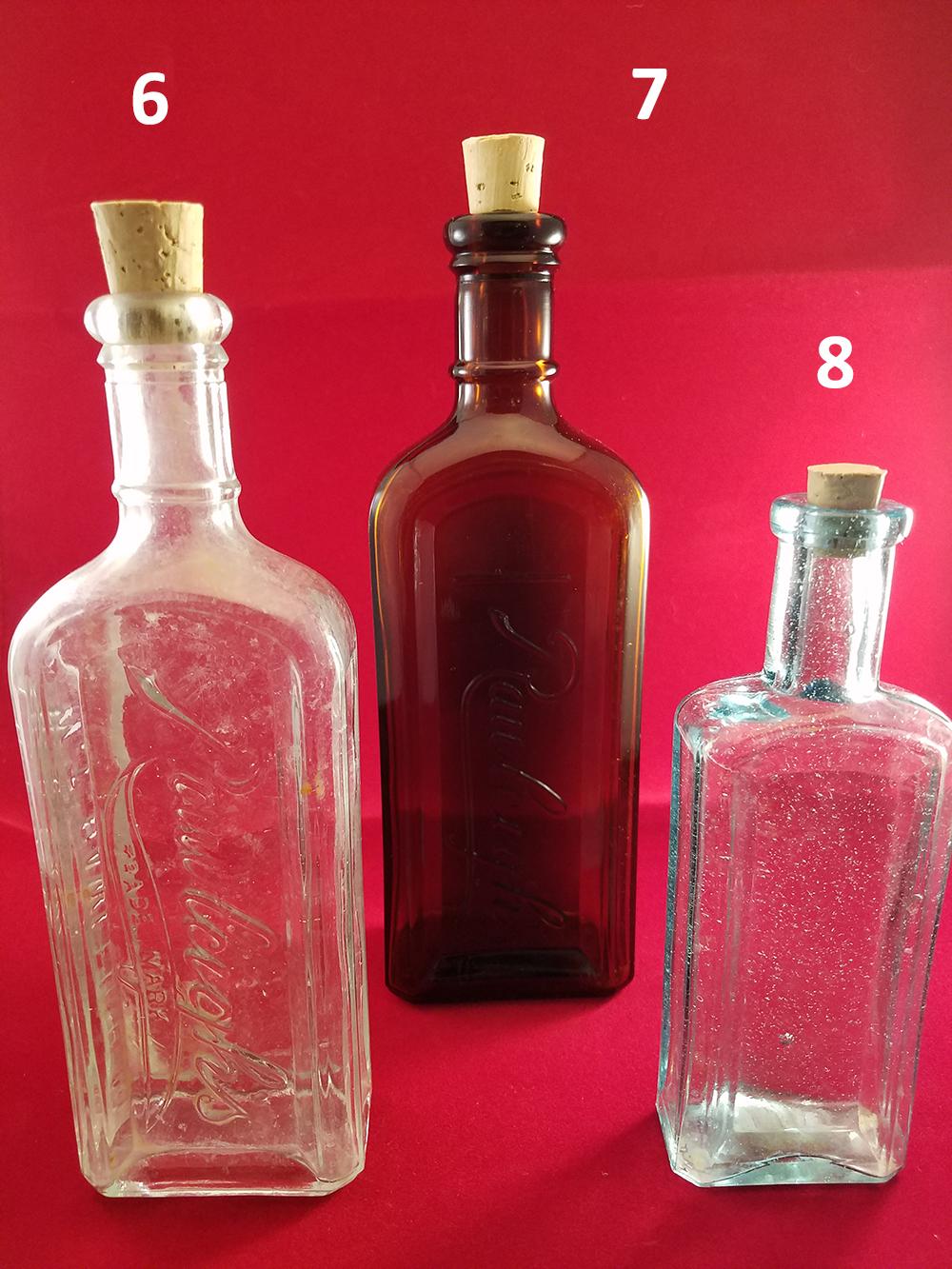 Antique Reuse Corked Bottles