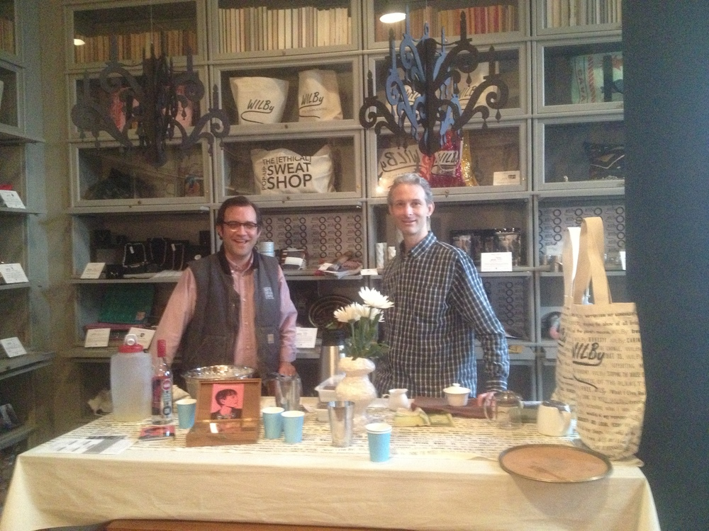 Allen Katz of NY distillery and Sebastian Beckwith of In Pursuit of Tea share their ethical everything with us.