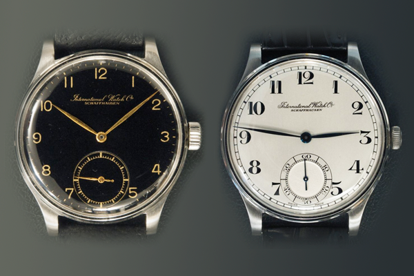 Dial variations in two ref.325 Portuguese, both sold in the early 1940's