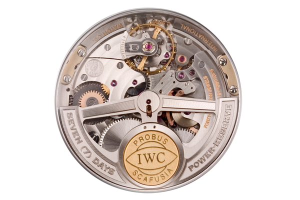 IWC's in-house calibre 5000