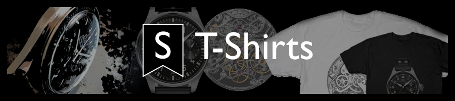 T-shirts of your favorite watches and Watch Movements!