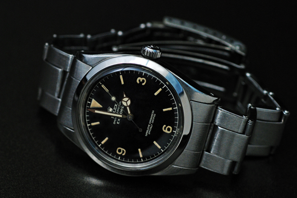 An early Rolex Explorer 1016