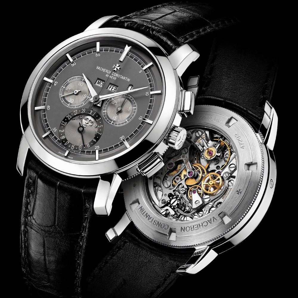 The Vacheron Constantin 5000T showing off it's Lemania based movement