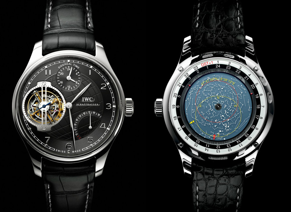 This IWC Siderale Scafusia Grande Complication watch is an absolute mechanical marvel!