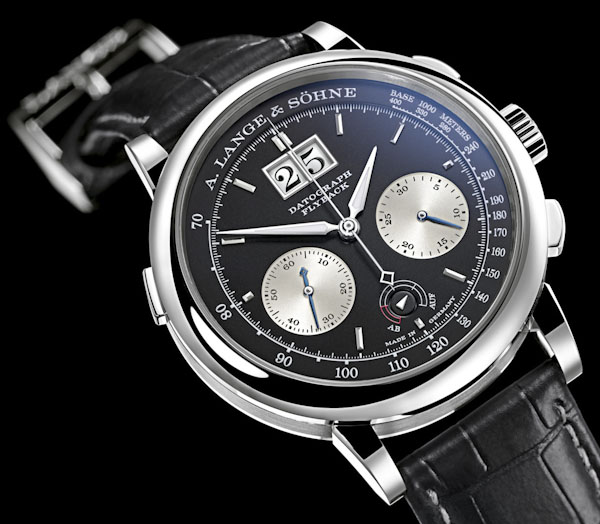 A flyback chronograph by A. Lange and Sohne (over $50k!)