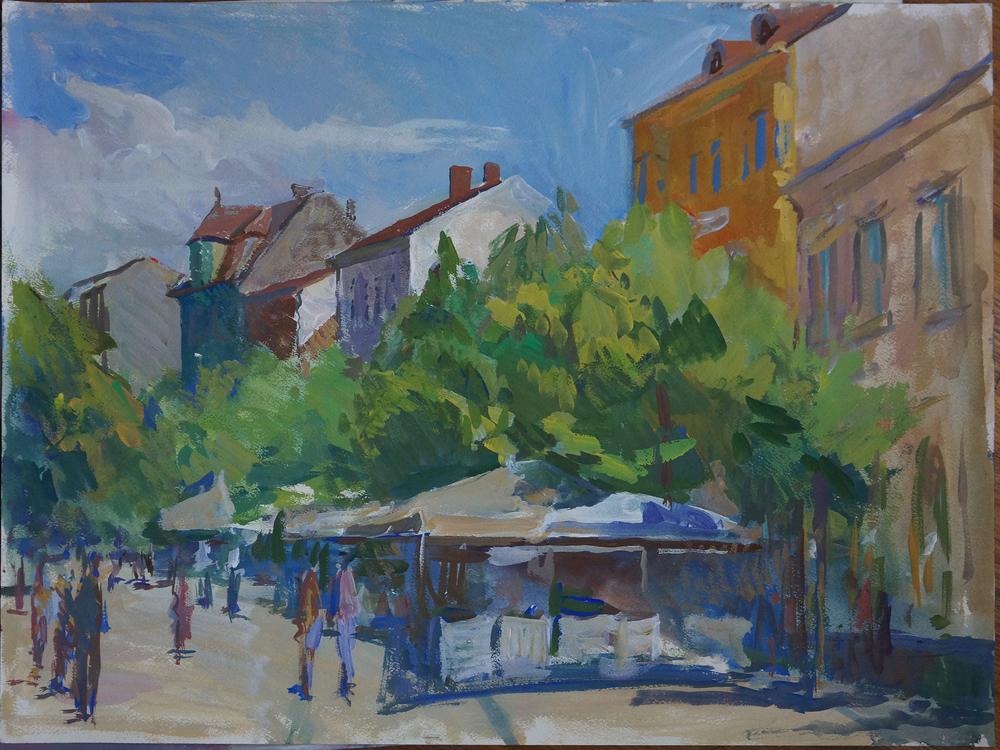 Strada Balcescu, Iliya Mirochnik, 18x24.JPG