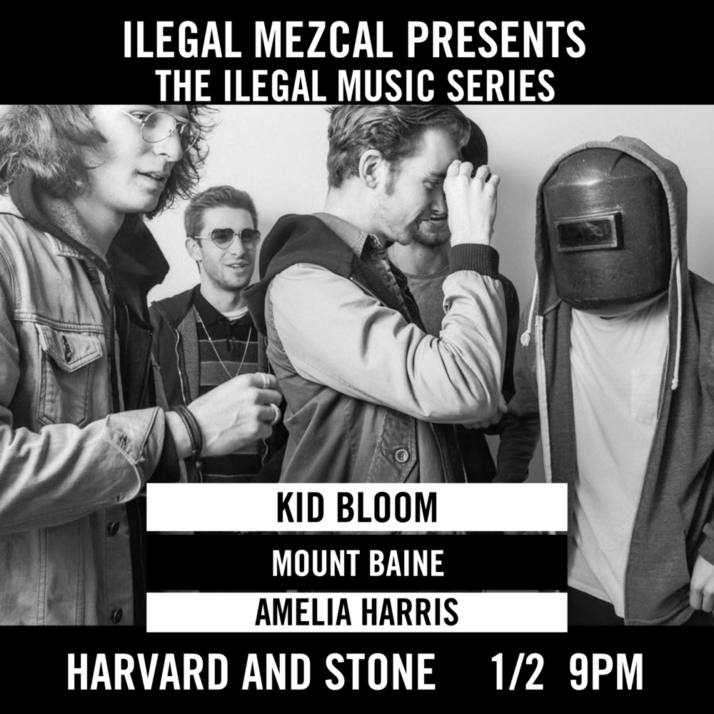 Featuring Kid Bloom | Mount Baine | Amelia Harris