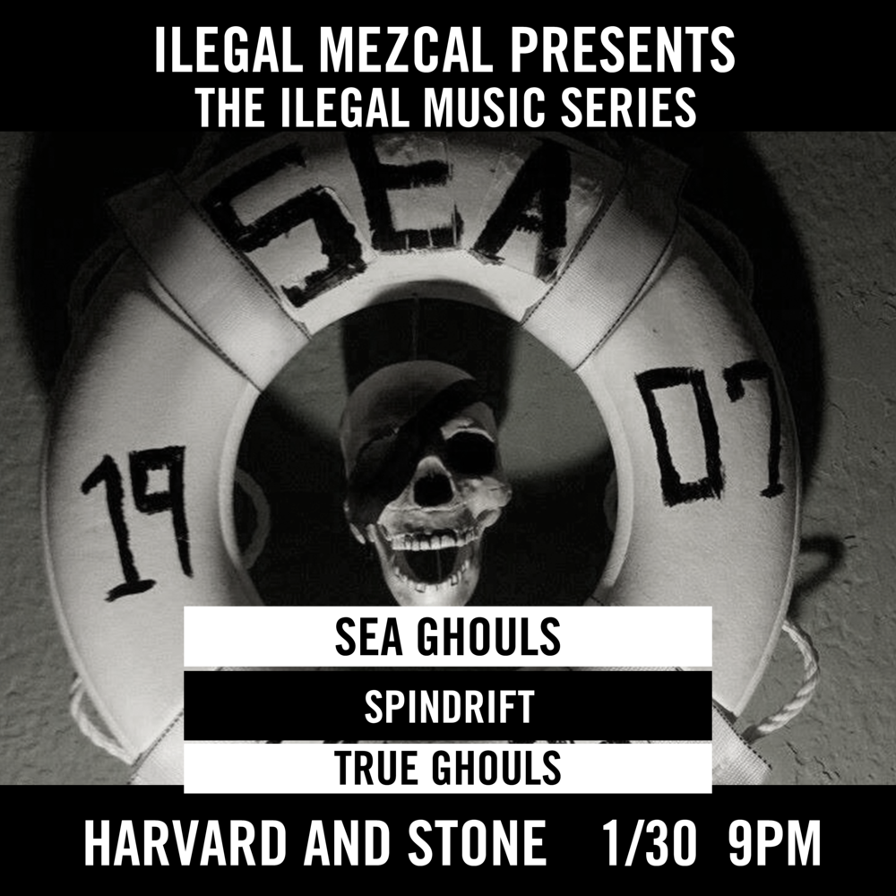 Featuring Sea Ghouls | SPINDRIFT | True Ghouls