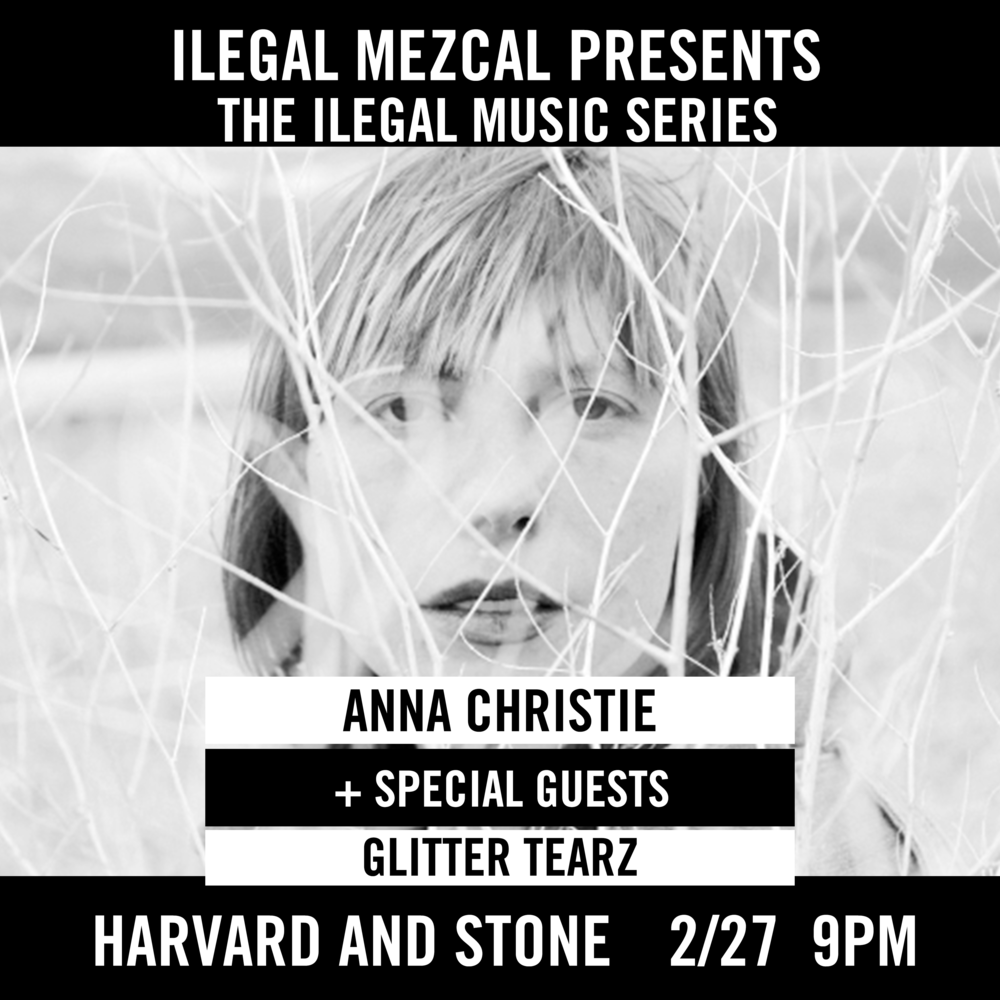 Featuring Anna Christie + Special Guests || Glitter Tearz