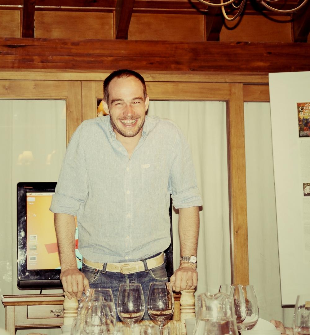 Meinard Bloem winemaker at Lagar de Bezana