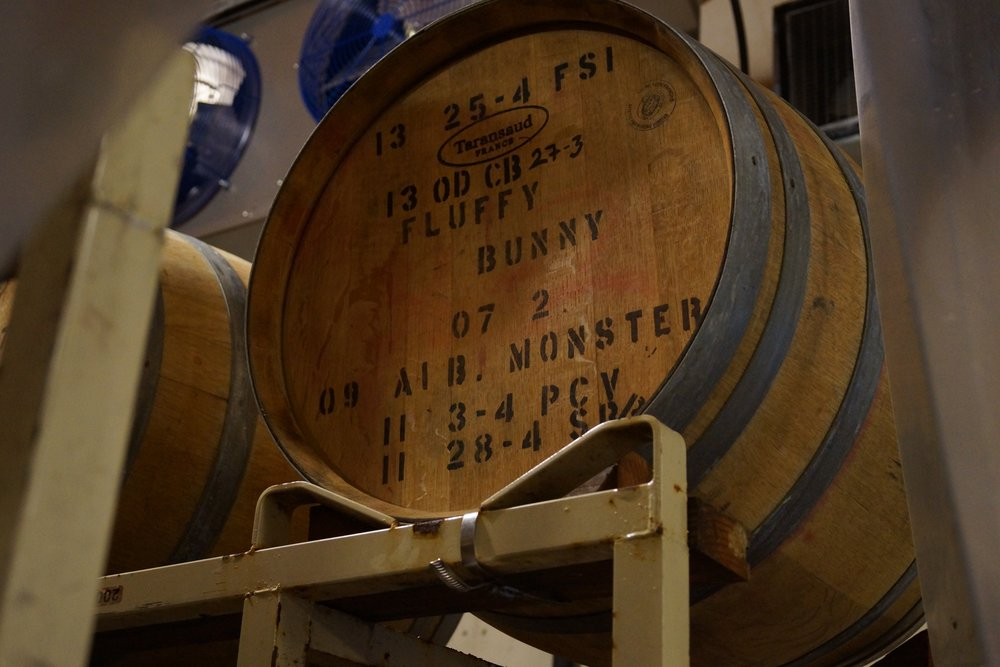 Big Basin names their barrels