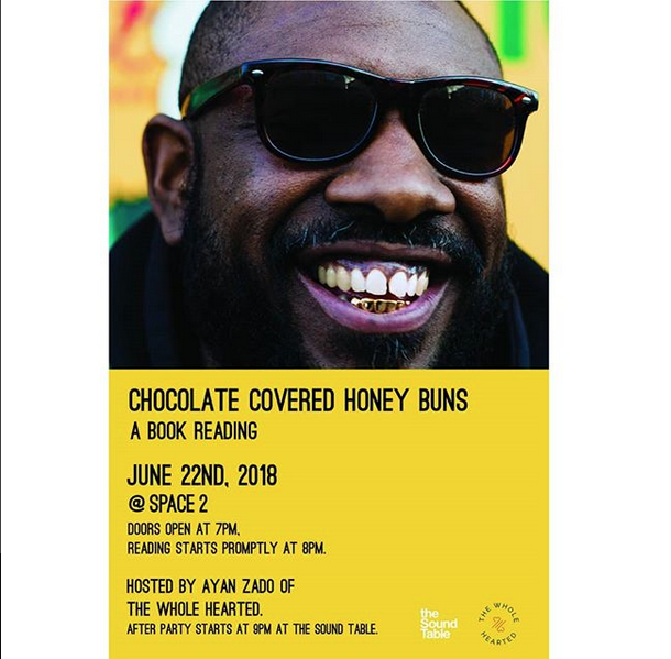 Chololate Covered Honey Buns Sean Fahie Book Reading And After Party