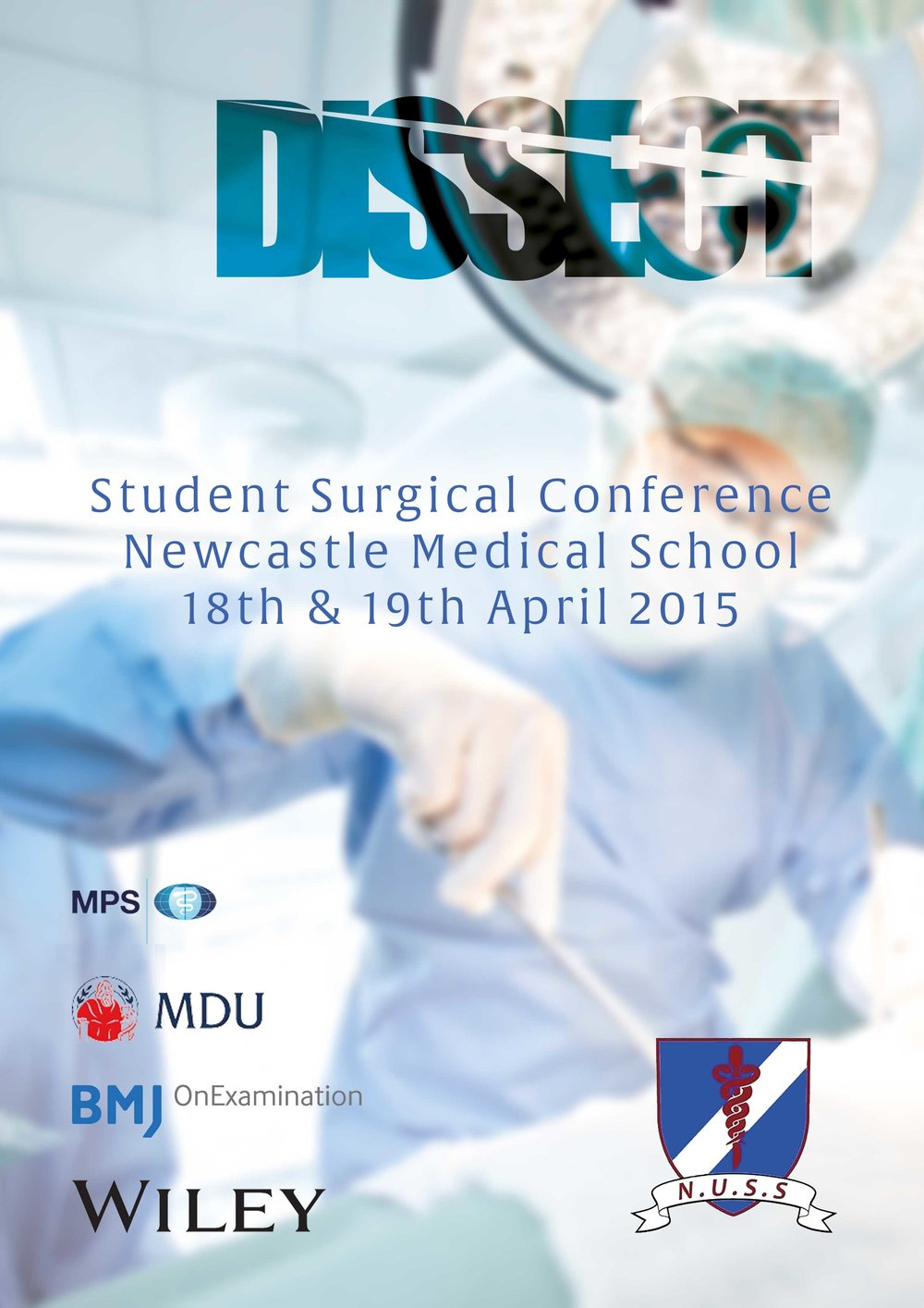 Newcastle University Surgical Society - DISSECT conference poster - THAT Branding Company - Creative Design and Branding Agency in Newcastle and Gateshead.jpg