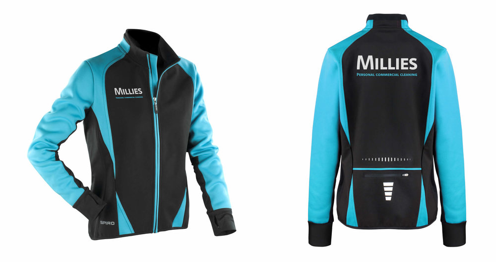 Jacket design for Millies Commercial Cleaning - by THAT Branding Company - Creative Design and Branding Agency in Newcastle Gateshead and Durham.jpg
