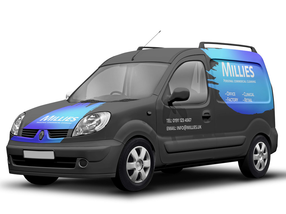 Vehicle Livery Mockup for Millies Commercial Cleaning - by THAT Branding Company - Creative Design and Branding Agency in Newcastle Gateshead and Durham.jpg