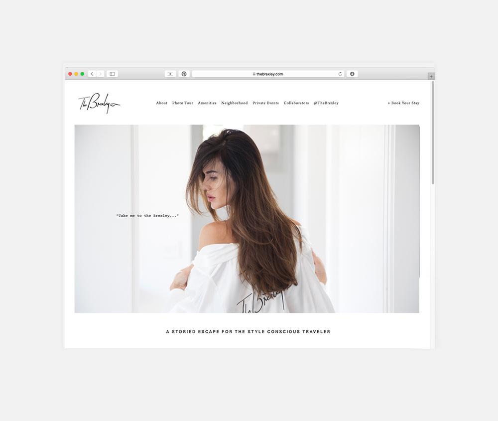 The Brexley: Branding + Logo Design + Website Design