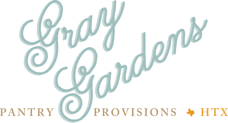 Gray Gardens Pantry Provisions