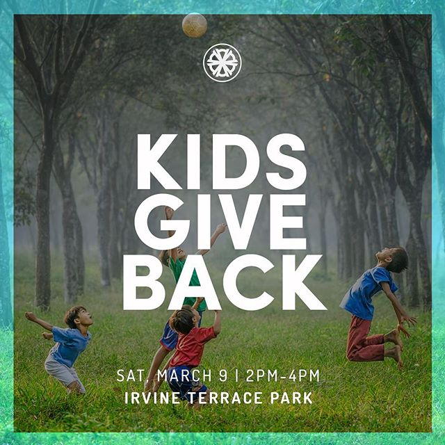 Attention all parents! We have event coming up on Saturday, March 9th for your kids! It will be from 2pm to 4pm at Irvine Terrace Park. This event is geared towards kids of all ages. At One ATTA Time we value kids and we believe it's important to teach them from a young age that they too can be world-changers. At the event we will offer a short child friendly presentation about the world water crisis, and then we will provide crafts for the children to create for our partners around the world. Come Join us as we empower kids to look outside of their circumstances and give back. #oneattatime