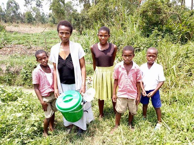 Clean water for Uganda 🇺🇬 #oneattatime