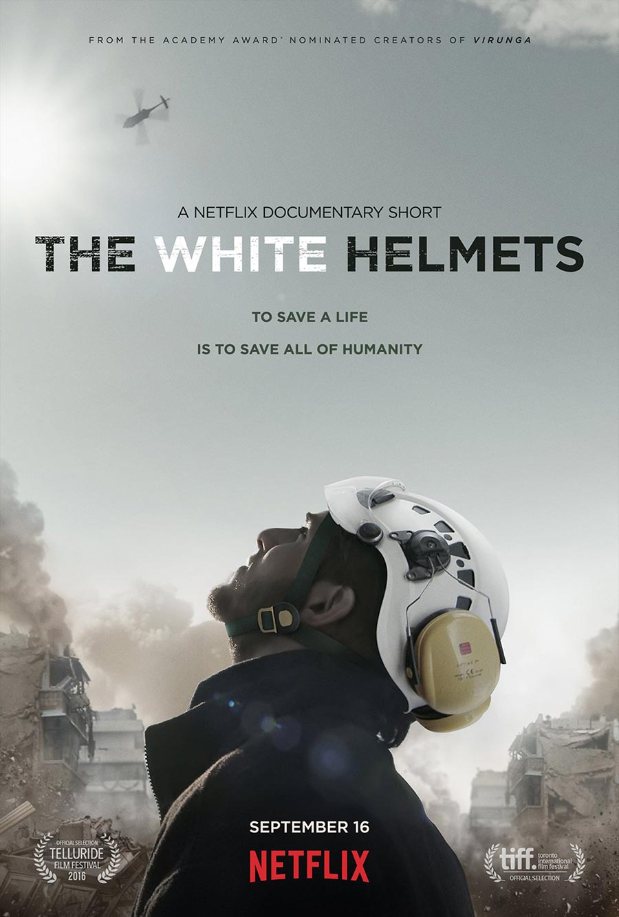 Click the image to watch the documentary to learn more about the White Helments