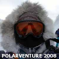 a winter traverse across the Penny Ice Cap