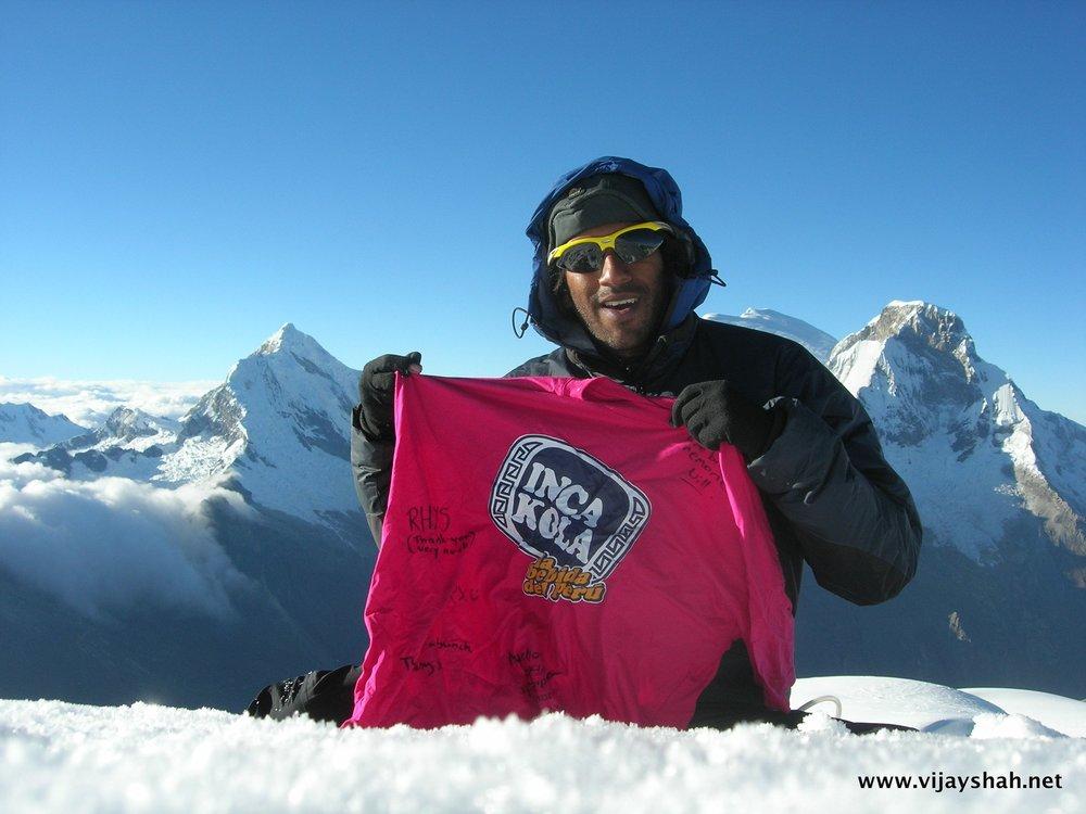 Nevado Pisco 5742m