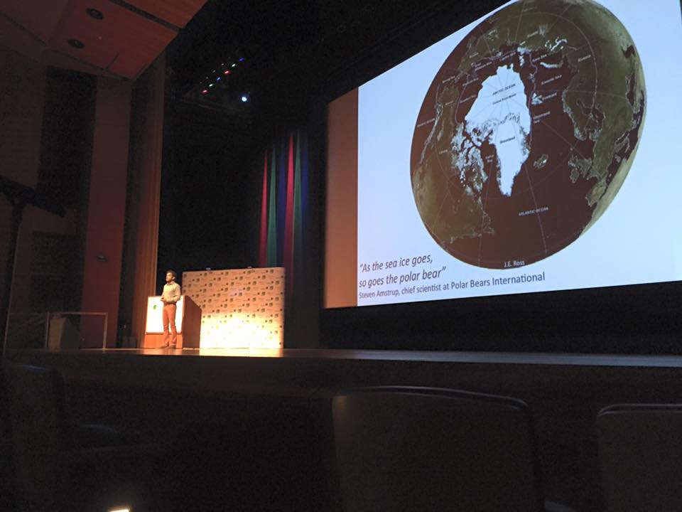 """The rapid loss of the polar icecaps affect our entire planet and is something we simply cannot ignore any further""  -Explorer and Filmmaker Vijay Shah at his WEP 2016 Keynote Lecture 'Climate Change through the eyes of a Polar Explorer'."