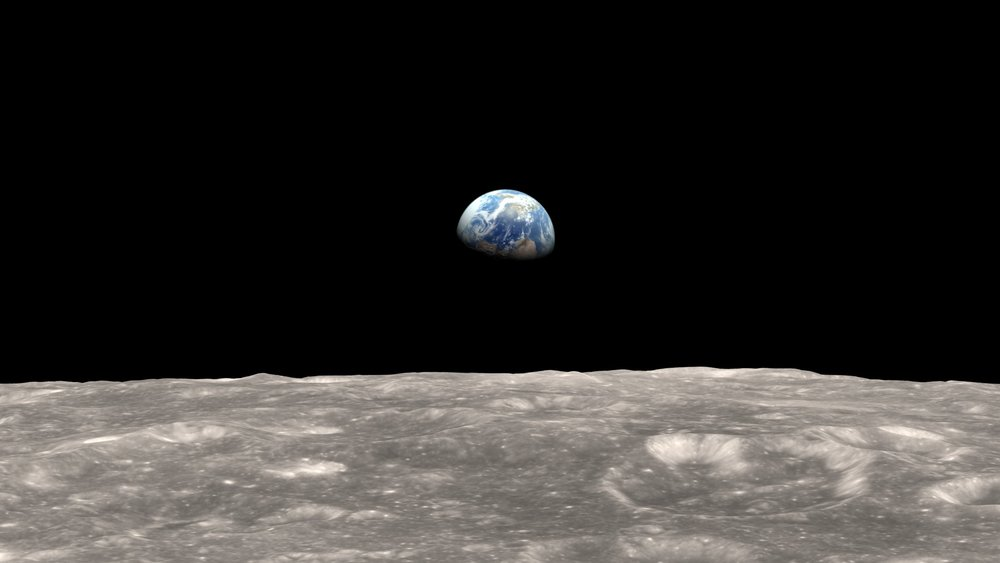 Earth Rise (Source NASA)