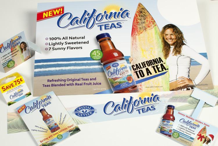 California Teas POS Campaign