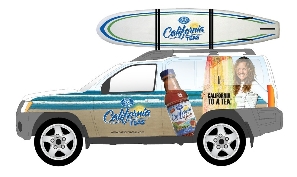 California Teas Vehicle Graphics