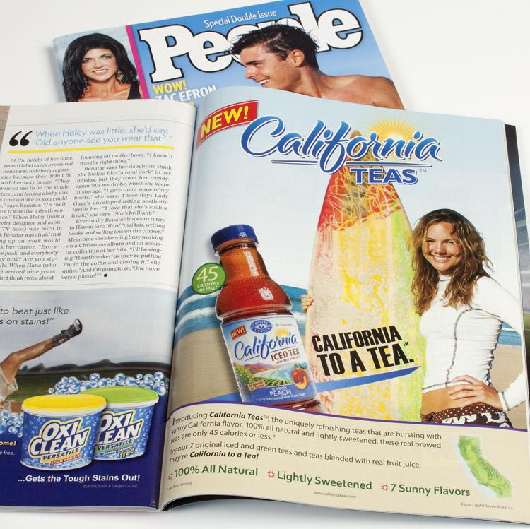California Teas Ad Campaign