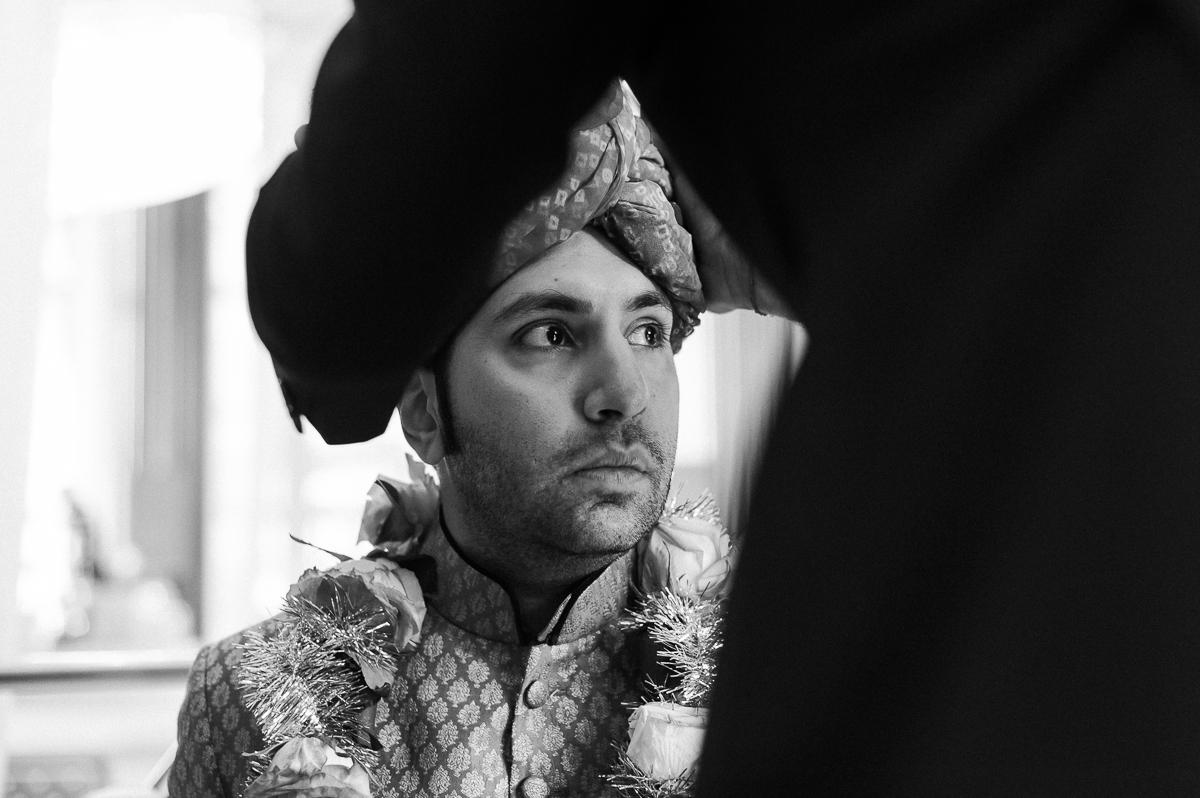 Sikh Wedding Getting Ready