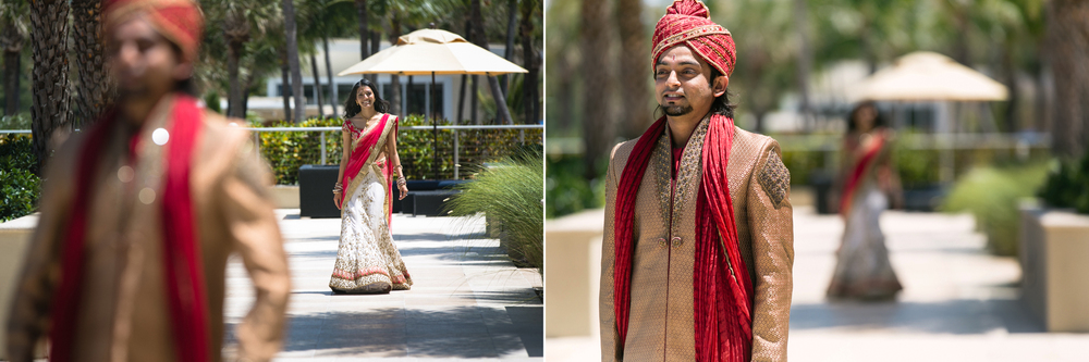 Miami Beach Indian Wedding Photographer