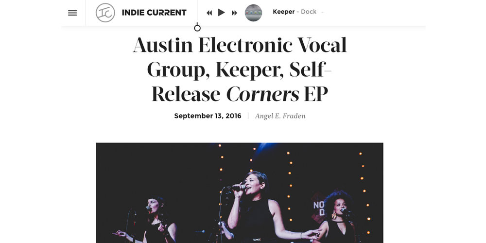 Corners Premiere Indie Current