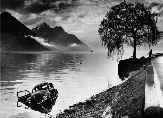 Karambolage , by Arnold Odermatt. Steidl. Fall 2013.  Pictured: Buochs, 1965.