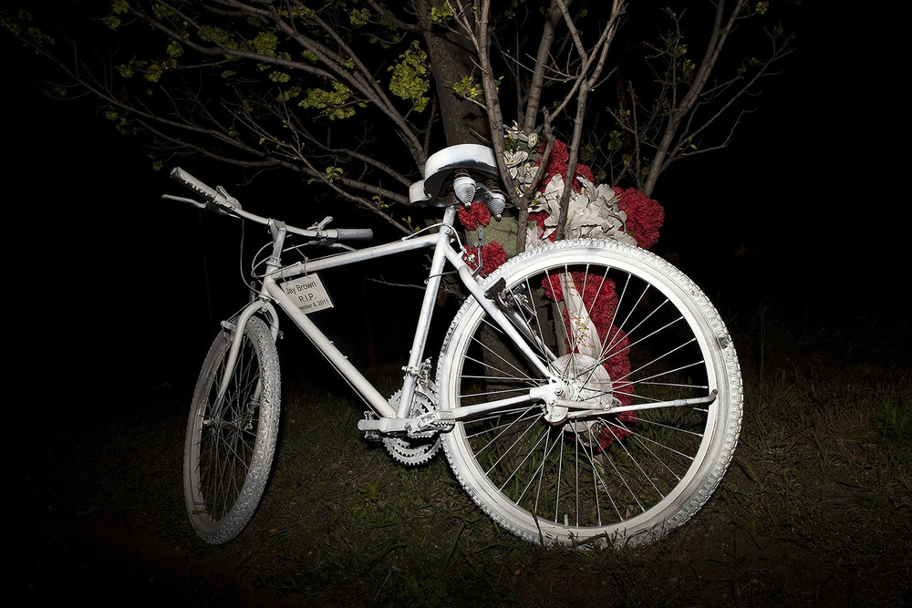 Kathleen Hayes Ghost Bike Twilight.jpg