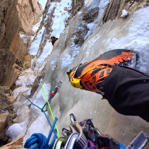 Nathan Smith on Pitch 3 of Golden Spike.
