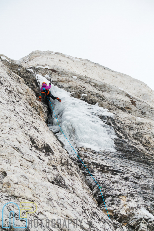 Jewell Lund going for it on pitch 2 of Ice Giants.