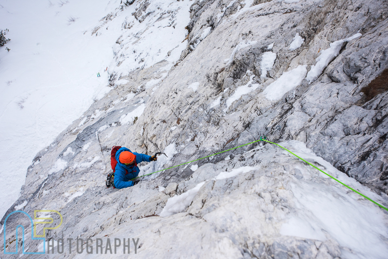 Tom Adams following pitch 2 of Ice Giants.