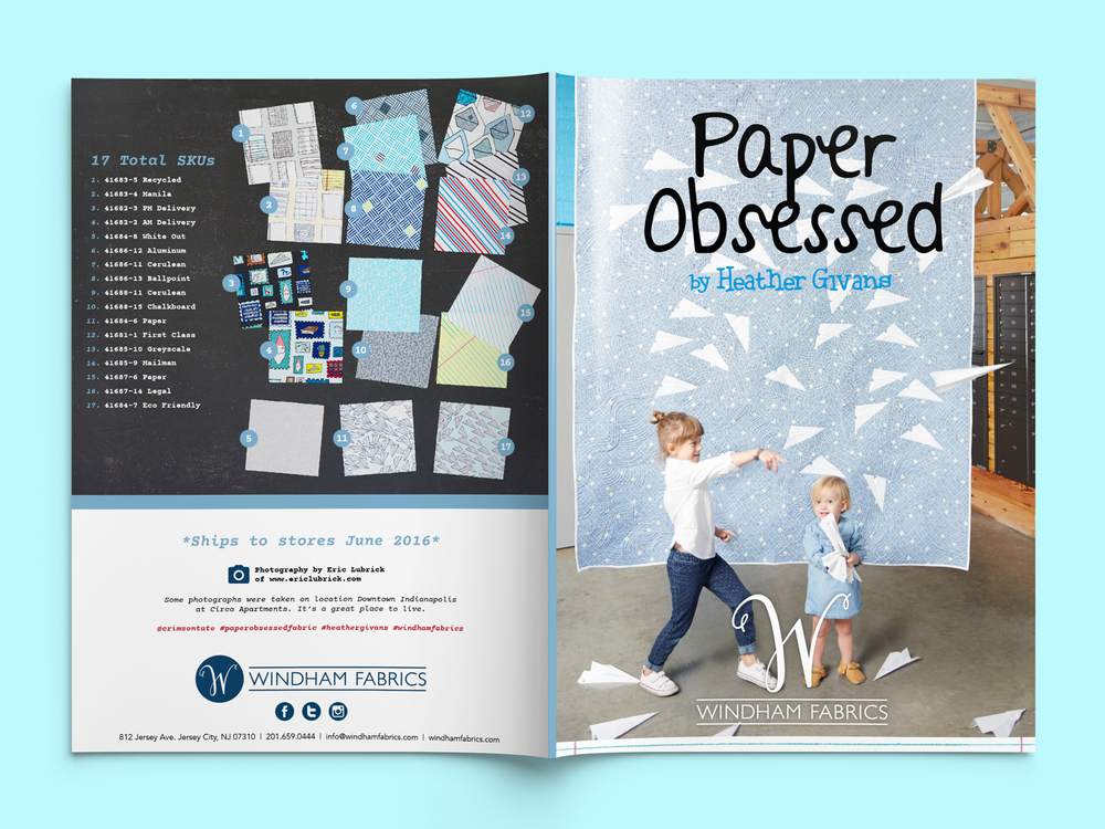 Lookbook Design - Featuring Paper Obsessed by Heather Givans